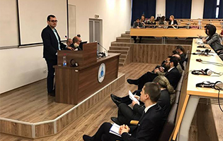 Analytica at a conference on 'Violent Extremism in the Balkans'