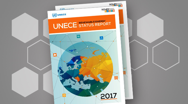 New REN21 UNECE RENEWABLE ENERGY STATUS REPORT for 2017